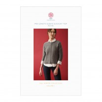 Mid-length Sleeve Slouchy Top Petite Pattern