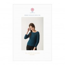 Ribbed Raglan Sweater Pattern