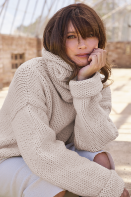 ngrid – Cowl Neck (Meadow)