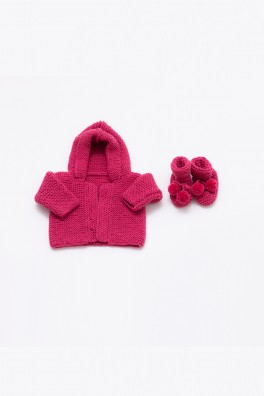 Royal Baby Collection - Cardigan and Booties Set Kit