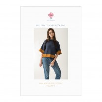 Bell Sleeve Slash Neck Top Pattern