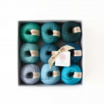 KPC yarn set - Blue Hawaii (Gossyp)