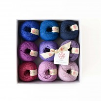 KPC yarn set - Purple Rain (Gossyp)