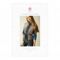 Sleeveless Ribbed Cardigan Pattern